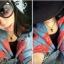 AI1767 - สร้อยคอแฟชั่น,สร้อยคอ,สร้อยแฟชั่น,เครื่องประดับ rose gold metal necklace thumbnail 4
