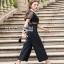 Lady Ribbon Cindy Crepe Jumpsuit thumbnail 4