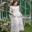 Lady Ribbon Eves Princess Style Dress ยาวขายส่งเดรสผ้า thumbnail 2