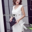 White Dress เดรสผ้าวิสโคส thumbnail 7