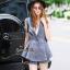 Lady Ribbon Online เสื้อผ้าออนไลน์ขายส่ง Normal Ally เสื้อผ้า NA07150816 &#x1F389Normal Ally Present elegance Chanel Summer set&#x1F389 (เสื้อ + กางเกง,มีซับใน) thumbnail 2