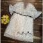 VP02310816 Luxury Floral Embroidery MINI Dress มินิเดรสสไตล์เกาหลี น่ารักมากค่ะ thumbnail 5