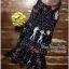 Lady Ribbon Online เสื้อผ้าออนไลน์ขายส่ง very very pretty เสื้อผ้า VP04140816 Smart Casual Polka Dot Print Sleeveless Dress thumbnail 4