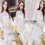 Lady Ribbon White Lace Dress thumbnail 1
