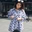 Lady Ribbon Jackie Blue Cotton Shirt Dress thumbnail 1