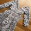 Lilac Guipure Lace Dress Lady Ribbon เดรสผ้าลูกไม้ thumbnail 7