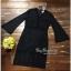 ชุดเดรสผ้าถักสีดำเรียบหรู thumbnail 4