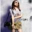 Chinese Style Printed Shirt Dress Lady เชิ้ตเดรส thumbnail 2