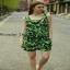 ASOS แฟชั่นจั้มสูตรเกาหลีสีเขียว เสื้อผ้าสีสันสดใส thumbnail 3