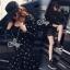 SV09310816 &#x1F389Sevy Star Hip Hop Jacket With Mini Skirt Sets Type: Jacket+Skirt thumbnail 1