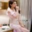 Lady Ribbon Melissa Ruffle Pink Dress thumbnail 2