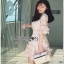 Lady Ribbon Anna Sweet Pink Lace Dress thumbnail 4