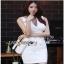 Lady Ribbon Suit Dress ขายสูทเดรสแขนกุด thumbnail 3