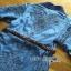 Gucci Blue Denim Shirt Lady Ribbon Dress เชิ้ตเดรส thumbnail 7