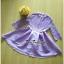 เสื้อผ้าแฟชั่นเกาหลีเดรสผ้าลูกไม้ตัดต่อกับกระโปรงผ้าซีลค์ thumbnail 5