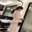 ชุดเดรสสั้นแฟชั่นเกาหลีลุคสวยหรู เนื้อผ้าตาข่ายเกรดดี thumbnail 2