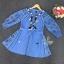 SV01310816 &#x1F389Sevy Embroidered Bohemian Cute Dolly Sleeve Tassel Rop Mini Dress Type: Mini Dress thumbnail 7