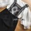 Lady Ribbon Dress Set ขายส่งเซ็ตเสื้อผ้าคอตตอน thumbnail 4