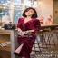 Lovely Beauty Dress เดรสสั้นแฟชั่น เนื้อผ้าเกาหลีกำมะหยี่ thumbnail 2