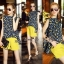 Lady Ribbon Online เสื้อผ้าออนไลน์ขายส่ง Normal Ally เสื้อผ้า,NA16220816 &#x1F389Normal Ally Present Tulip print shirt and pant with belt set&#x1F389 (เสื้อ + กางเกง + เข็มขัด) thumbnail 1
