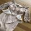 Lady Ribbon Crepe Dress เดรสผ้าทูลล์ ปักลายและตกแต่งมุก thumbnail 4