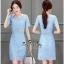 เสื้อผ้าเกาหลีเดรสลูกไม้เนื้อสวยหวาน thumbnail 2