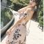 Lady Ribbon Strappy Mini Dress มินิเดรสสายเดี่ยว thumbnail 4