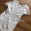 Lady Ribbon Lace Dress เดรสแขนสั้นผ้าลูกไม้สีขาว thumbnail 6