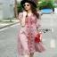 Lady Ribbon ขายเดรส Pink Denim Dress thumbnail 1