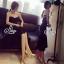 Lady Ribbon Online ขายส่งเสื้อผ้าออนไลน์ เสื้อผ้า Sevy SV08030816 &#x1F389Sevy Strapless Mermaid Tail Midi Dress thumbnail 4