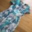 Lady Ribbon Lace Maxi Dress ขายส่งเดรสยาว thumbnail 6
