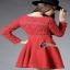 Mini dress แขนยาว ช่วงบนเป็นงานลูกไม้ thumbnail 3