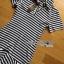 Lady Ribbon Online เสื้อผ้าออนไลน์ขายส่ง lady ribbon เสื้อผ้า LR15150816 Dress เชิ้ตเดรสลายทางตกแต่งชายระบายสไตล์มินิมัล thumbnail 5