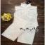 เสื้อเขนกุดลุคก์เกาหลีสีขาว thumbnail 5