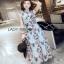 Lady Ribbon Maxi Dress ขายเดรสยาว thumbnail 2
