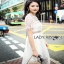 Lady Ribbon Self-Portrait White Lace Midi Dress thumbnail 2