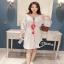 เสื้อผ้าแฟชั่นเกาหลีCliona made'Embroidered Easy thumbnail 2