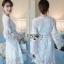 Guipure Lace Dress Lady Ribbon เดรสผ้าลูกไม้ thumbnail 1