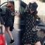 SV09310816 &#x1F389Sevy Star Hip Hop Jacket With Mini Skirt Sets Type: Jacket+Skirt thumbnail 3