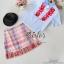 ST05310716 &#x1F340สินค้าพร้อมส่ง&#x1F340 한국에 의해 설계된 2sister made, Unity of the Vintage Red & Blue Korea Cuties Set thumbnail 6