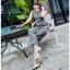 Zippy Jumpsuit with Belt Lady Ribbon จัมป์สูทแขนกุด thumbnail 7