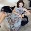 Lady Ribbon Maxi Dress ขายเดรสยาว thumbnail 3