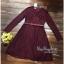เสื้อผ้าชุดเดรสเกาหลีผ้าลูกไม้ทั้งตัวสไตล์ thumbnail 4