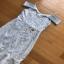 Pastel Blue Strappy Dress Lady Ribbon เดรสสายเดี่ยว thumbnail 4