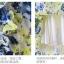 เสื้อแฟชั่น/เดรสเกาหลีแขนกุดผ้าไหมเกาหลีเนื้อผ้าลื่นพริ้ว ลายดอกไม้ thumbnail 16