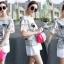 SS16010916 Seoul Secret Say's... Chic Denim Chill Dresss Material : เนื้อผ้ายีนเดนิมผสมคอตตอน thumbnail 1