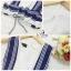 Lady Ribbon Online เสื้อผ้าแฟชั่นออนไลน์ขายส่ง เลดี้ริบบอนของแท้พร้อมส่ง sevy เสื้อผ้า SV01240716 &#x1F389Sevy Two Pieces Of Sleeveless Stripes Edge With Shorts Sets thumbnail 5