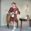 ชุดเดรสแฟชั่นสั้น เสื้อผ้าลูกไม้เกาหลีทอฉลุลาย thumbnail 2