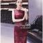 Lady Ribbon Online เสื้อผ้าออนไลน์ขายส่ง very very pretty เสื้อผ้า VP02140816 Luxury Sleeveless Lace Slim Dress By vvp เดรสแขนกุด เนื้อผ้าลูกไม้เกาหลี ลายลูกไม้ซีทรูเนื้อนิ่ม thumbnail 3