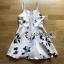Lady Ribbon Strappy Mini Dress มินิเดรสสายเดี่ยว thumbnail 5